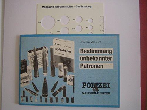 9783923259038: Polizei- und Waffenkalender. Bestimmung unbekannter Patronen