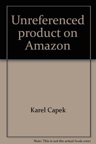 9783923493654: Gespräche mit Masaryk. Band 1 der Karel Capek-Werkausgabe