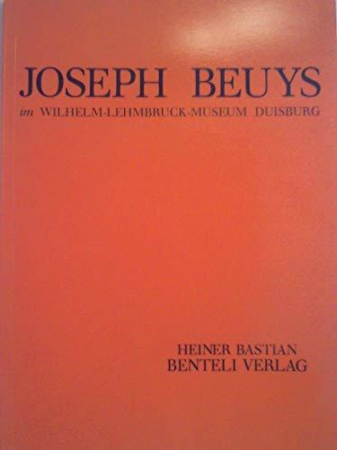 Joseph Beuys im Wilhelm-Lehmbruck-Museum Duisburg: Bastian, Heiner