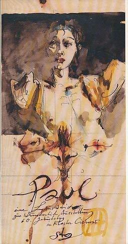 Paul, eine Laudatio zur Wunderlich Ausstellung (Livre: Janssen, Horst