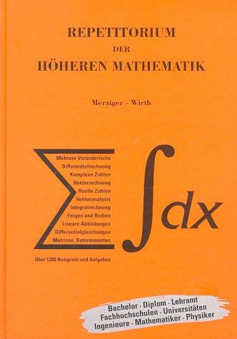 9783923923335: Repetitorium der h�heren Mathematik