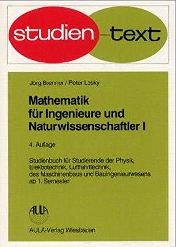 9783923944255: Mathematik für Ingenieure und Naturwissenschaftler, 4 Bde.