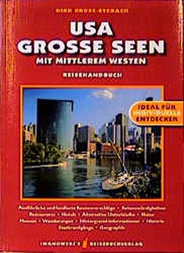9783923975556: USA / Grosse Seen. Mit mittlerem Westen. Reise-Handbuch.