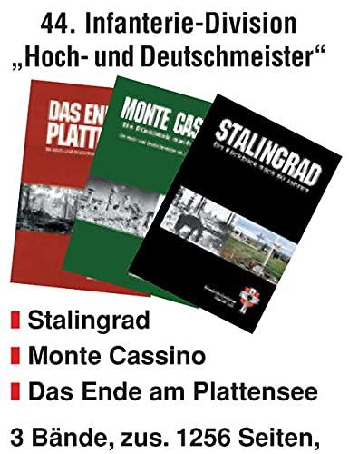 9783923995349: Die 44. Infanterie-Division - Reichs-Grenadier-Division Hoch-und Deutschmeister: Stalingrad - Monte Cassino - Das Ende am Plattensee