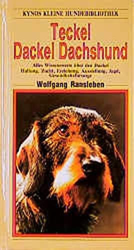 The Dachshund Or Teckel Abebooks