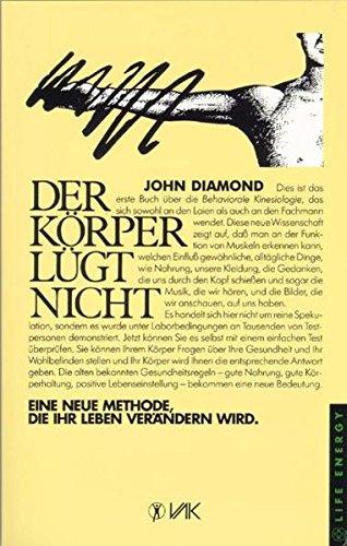 Der Körper lügt nicht (9783924077006) by John Diamond