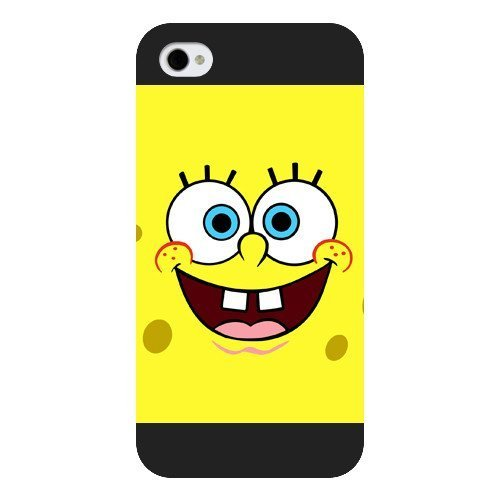 9783924160012: popular case Customized Black Frosted SpongeBob SquarePants Patrick Star iphone 5c case