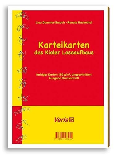 Kieler Leseaufbau / Einzeltitel / Kieler Leseaufbau. Karteikarten in Druckschrift (...