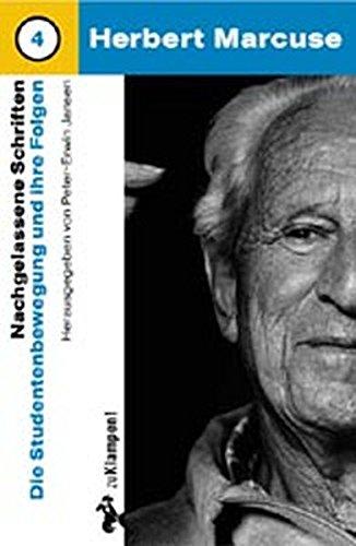Die Studentenbewegung und ihre Folgen. (392424586X) by Herbert Marcuse