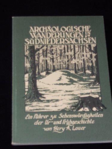9783924538033: Archaologische Wanderungen in Sudniedersachsen