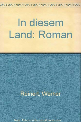 9783924555368: In diesem Land: Roman (German Edition)