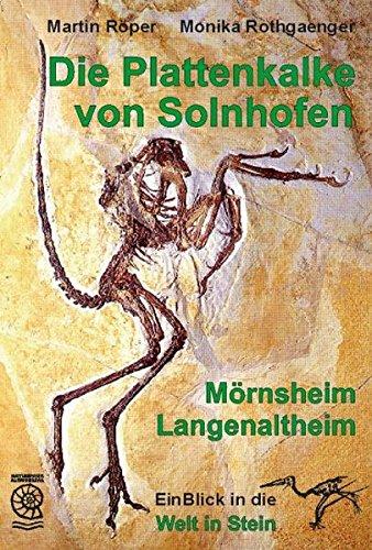 9783924828929: Die Plattenkalke von Solnhofen - Mörnsheim - Langenaltheim: EinBlick in die Welt in Stein