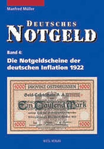 9783924861803: Deutsches Notgeld, Band 4.