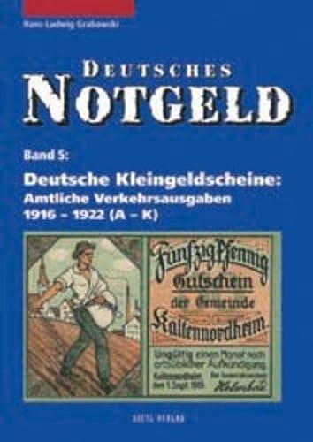 9783924861858: Deutsches Notgeld, Band 5 + 6
