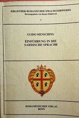 9783924888961: Einführung in die sardische Sprache