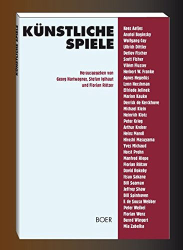 Künstliche Spiele. Klaus Boer Verlag 1993. Texte: Vilém Flusser /