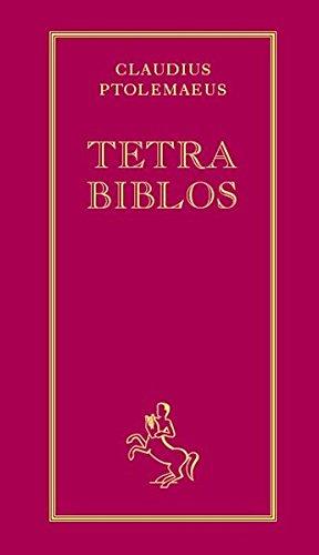 9783925100178: Tetra Biblos: Nach der von Philipp Melanchthon besorgten seltenen Ausgabe aus dem Jahre 1553