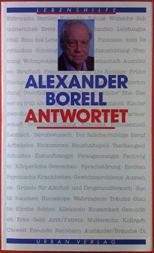 9783925334290: Alexander Borell antwortet