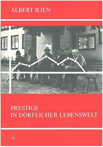 9783925340154: Prestige in d�rflicher Lebenswelt.
