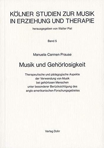 9783925366895: Musik und Gehörlosikgeit