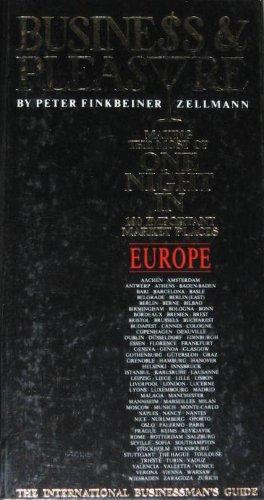 Business and Pleasure: Europe: Zellmann, Peter Finkeiner