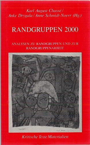 9783925515347: Randgruppen 2000