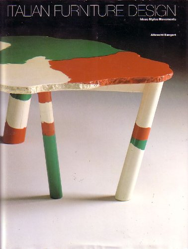 9783925560040: Italian Furniture Design: Ideas Styles Movements