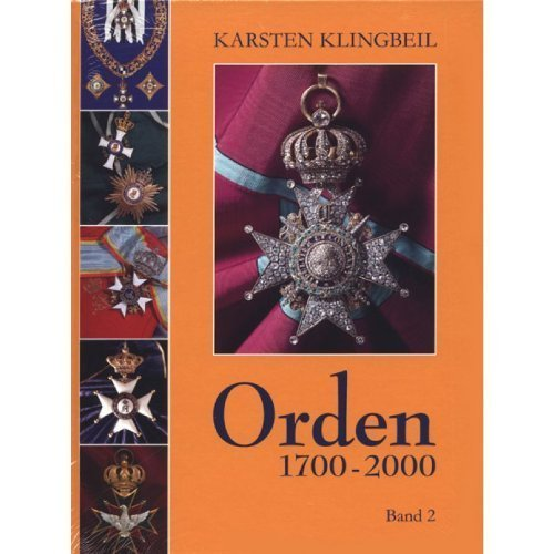 Orden 1700-2000, Band II (German Language)