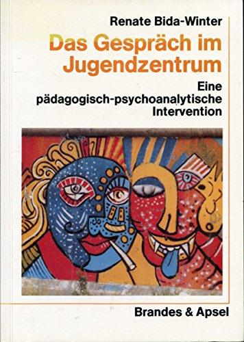 9783925798757: Das Gespräch im Jugendzentrum: Eine pädagogisch-psychoanalytische Intervention (Livre en allemand)