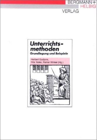 Unterrichtsmethoden.: Ernst Jünger