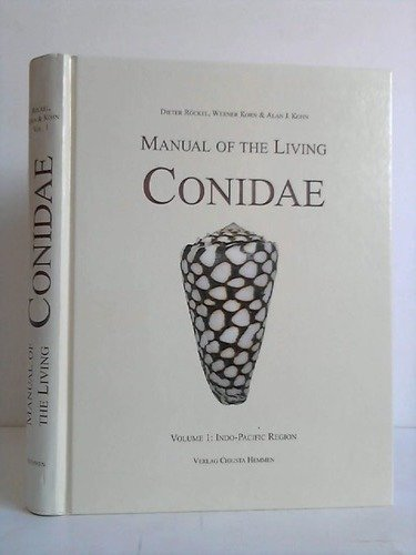 9783925919176: Manual of the living Conidae