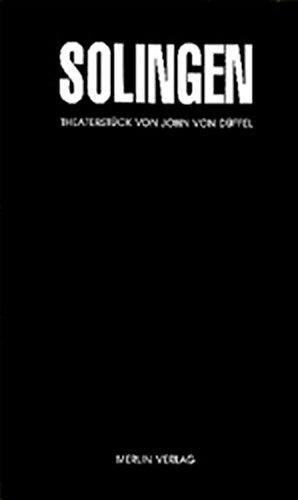 9783926112590: Solingen: Ein Theaterstück