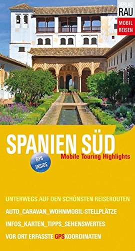 9783926145536: Spanien Süd. Mobile Touring Highlights