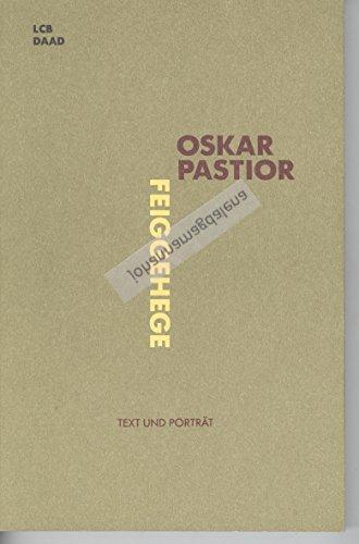 9783926178213: Feiggehege: Listen, Schnüre, Häufungen (Text und Porträt)
