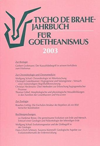 Tycho de Brahe-Jahrbuch für Goetheanismus / Tycho: Grohmann, Gerbert