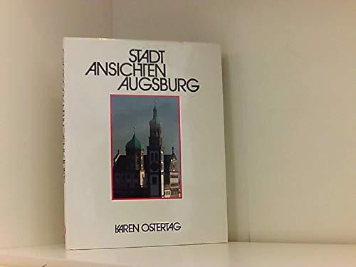 9783926367013: Stadt Ansichten Augsburg