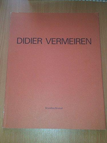 9783926530677: Didier Vermeiren: Photographies D'expositions