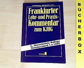 9783926549419: Frankfurter Kommentar zum Kinder- und Jugendhilfegesetz