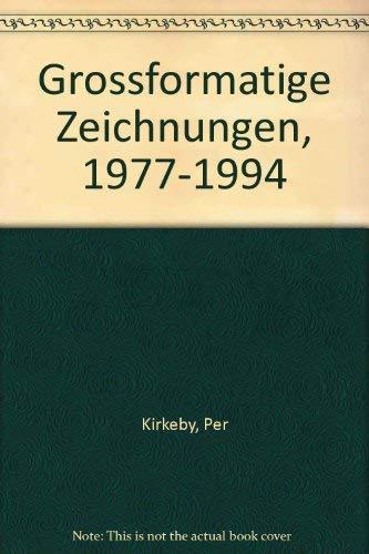 9783926608994: Grossformatige Zeichnungen, 1977-1994 (German Edition)