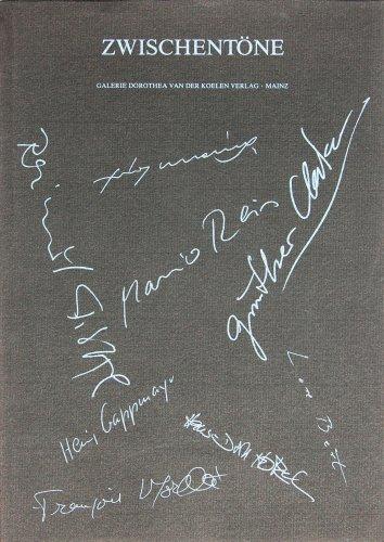 Zwischentöne: Arbeiten von Heinz Gappmayr, Raimund Girke,: Lothar Romain, Dietrich
