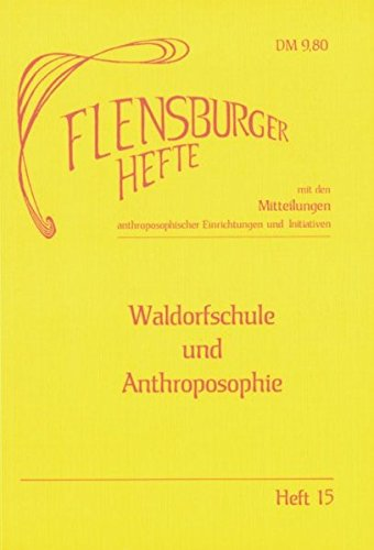 Waldorfschule und Anthroposophie (Livre en allemand)