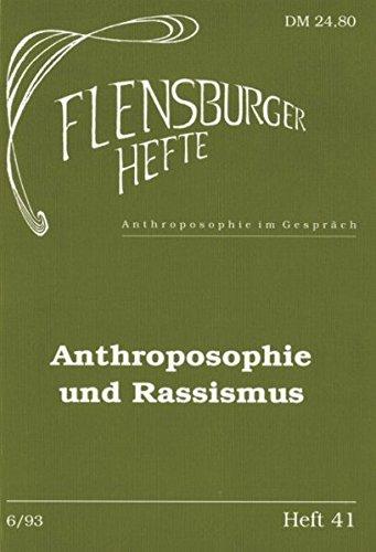 Anthroposophie und Rassismus: Walter Kugler, Thomas
