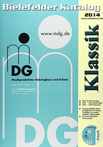 9783926886521: Bielefelder Katalog Klassik 2014