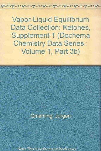 Vapor-Liquid Equilibrium Data Collection. Ketones (Supplement 1).: Gmehling, Jurgen