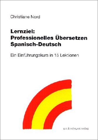 9783926972873: Professionelles übersetzen Spanisch-Deutsch