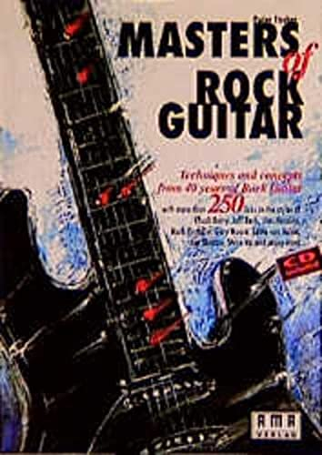 9783927190603: Masters Of Rock Guitar - Techniques and concepts from 40 years of Rock Guitar