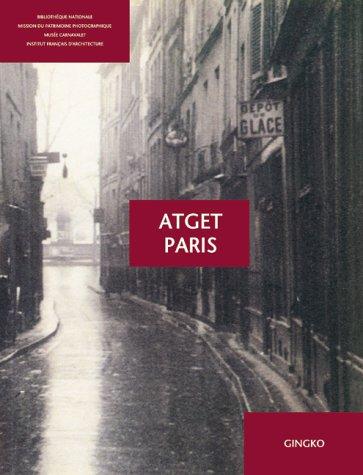 9783927258075: Atget Paris