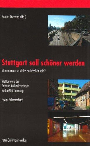 9783927340787: Stuttgart soll schöner werden