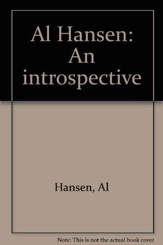Al Hansen: An Introspective: Hansen, Al; Kolnisches Stadtmuseum