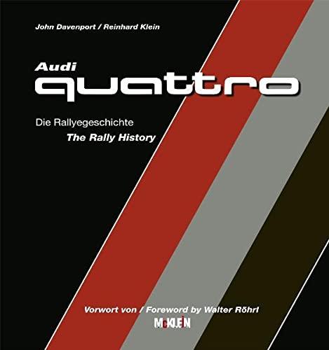 9783927458420: Audi Quattro: Die Rallyegeschichte